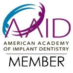 AAID - American Academy of Implant Dentistry Member Logo